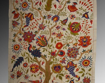 Surhandariya suzani hand made embroidery craft home decor  southern region