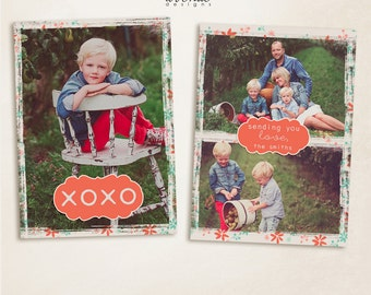 2015 Valentines vol.3 7x5inch CARD templates for photographers