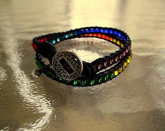 Chakra Double Wrap Bracelet