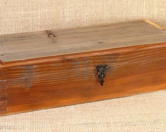 Off the Fence #4:  A series of boxes crafted from reclaimed fence boards.