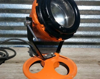 Crouse-Hinds Industrial Portable Spotlight Cast Aluminium Explosion Proof