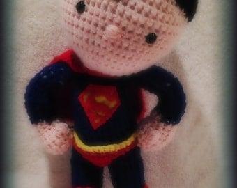 Super Hero Crochet Amigurumi Dolls / Plush