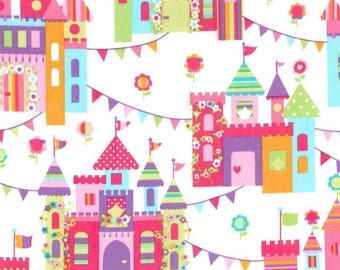 Michael Miller Castle Town Cotton Fabric - 1/2 Yard  Princess Fabric
