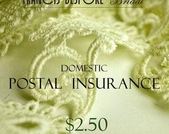 Domestic postal Insurance