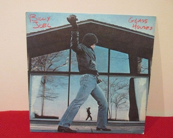 Billy Joel Glass House Collectible Vinyl Record VG to EX Condition