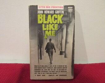 Vintage Paperback Book Black Like Me by John Howard Griffin
