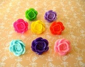 Resin Flower Thumbtack, Resin Rose Flower Push Pin, Rose Flower Notice Board Pins