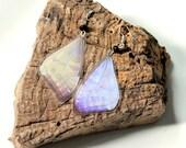Pale Purple Butterfly Earrings, Lavender Butterfly, Real Butterfly Earrings, Butterfly Jewelry