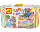 Yarn Craft Kit for Kids - Contains Yarn, Crochet Hooks, Needles & Instructions (290141)
