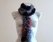 Extra long scarf winter scarf chunky knit scarf hand knit scarf winter scarf winter scarf for women ruffle scarf knitted scarf gift for her