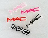 5pcs ((LAST)) MAC Kitschy Signature Decoden Cabochon (51x15mm) WS10008