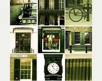 "London Gallery Art Print Set, London photography collection - ""London In Black"""