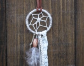 Tan Dream Catcher Necklace