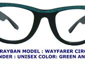 vintage Ray Ban Eyeglasses /ivy league eyeglasses/ Wayfarer eyeglasses / schoolboy eyewear/ ray ban