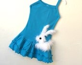 baby bunny girls easter dress size 2/3T ready to ship