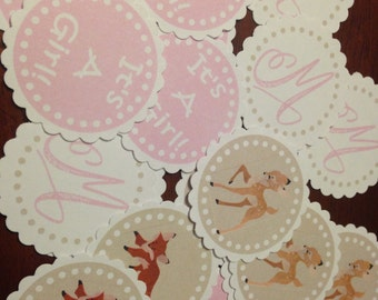 Forest Friends Girls Table Confetti