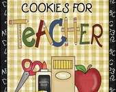 Cookies for Teacher Butterscotch Cookies in a Jar (NO physical item will be sent)