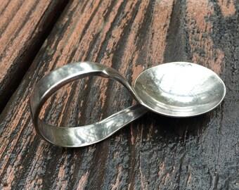 Vintage Silver Baby Spoon
