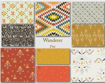 Crib Bedding- Design Your Own Baby Bedding- Wanderer Fire- Southwestern