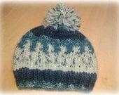 baby boy hat - knitted hat - winter hat- pon pon - knitted pattern - knitted accessories - boys accessories- kids accessories -kids clothes