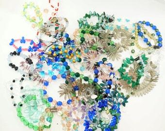49 CZECH Glass Bead Strands . craft supply No.0020 hs