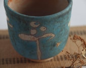 Turquoise Pottery/Ceramics Cup