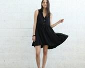 SALE!Collage Dress, Black.