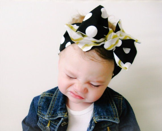 Baby Headwrap Baby Head Wrap Black Baby Head Wrap Cotton