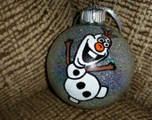 Frozen's Olaf Inspired Ornament Ball