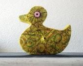 "Paper Art Sculpture ""Paper duck"""