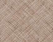 Architextures Crosshatch in Chestnut, Carolyn Friedlander, Robert Kaufman Fabrics, 100% Cotton Fabric, AFR-13503-342 CHESTNUT