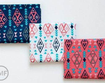 Fat Quarter Bundle What a Gem Tribal, 3 Pieces, Allison Cole, 100% Cotton, Camelot Fabrics, 8140608