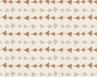 Hello Bear KNIT Follow Me Moonlight, Bonnie Christine, Art Gallery Fabrics, Cotton and Spandex Fabric, K-4436