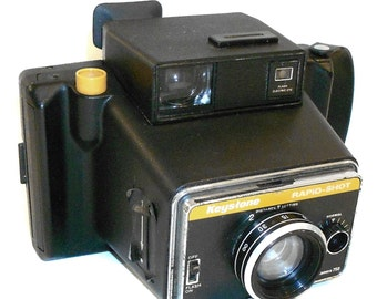 Vintage Keystone Rapid-Shot Instant Film Camera