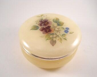 Alabaster Treasure Box from Italy