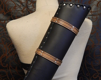 High quality medieval leather quiver. A must have for every archer. Larp, SCA, cosplay