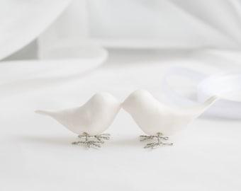 Wedding White Birds Cake Topper Birds in Love Wedding birds favors Wedding Planning Decor Decorations