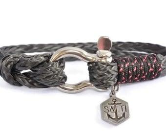 SALTI Men's Nautical Rope Bracelet 'BOWSPRIT' Worldwide FREE Shipping (10)