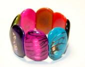 Colorful Tagua Nut Bracelet