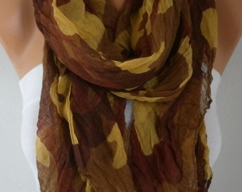 Leopard Print Soft Scarf, Summer Fashion, Camouflage, Shawl Cowl Scarf Gift Ideas For Her women Fashion Accessories Women Scarves
