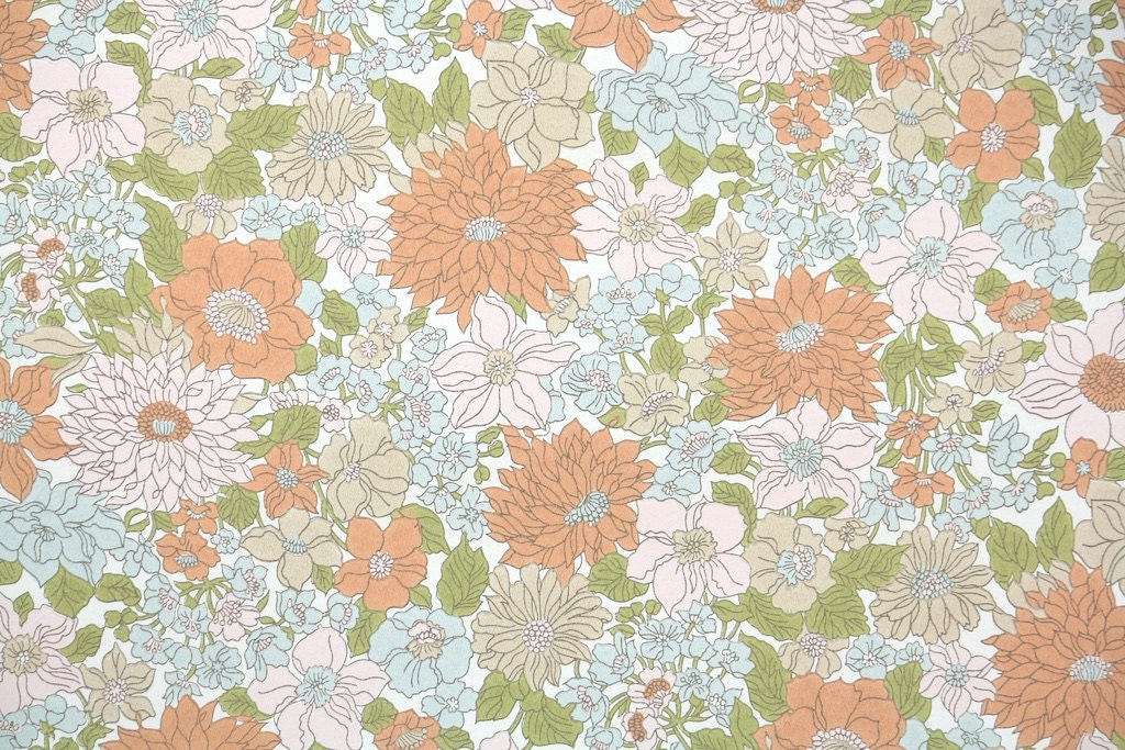 1970s vintage wallpaper retro - photo #21