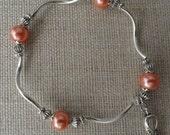 055 Endometrial/Uterine Cancer Awareness Bracelet