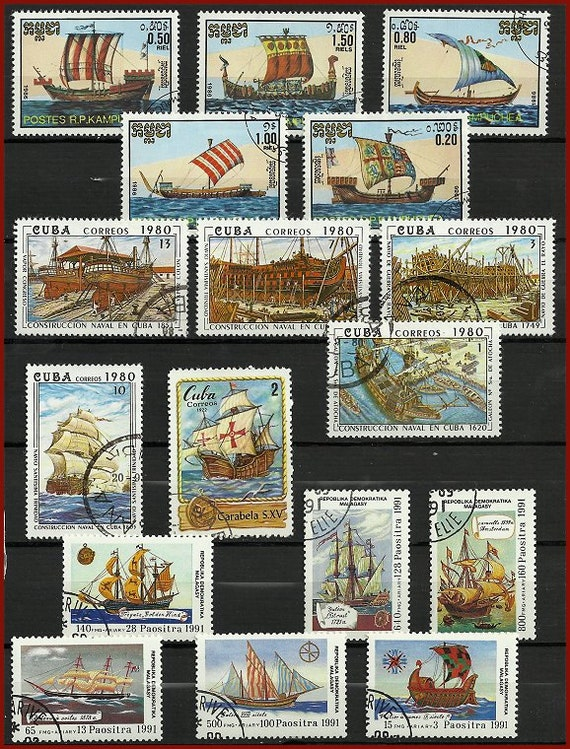 Postage Stamp Craft