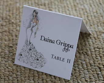 Sassy Bride Place Card