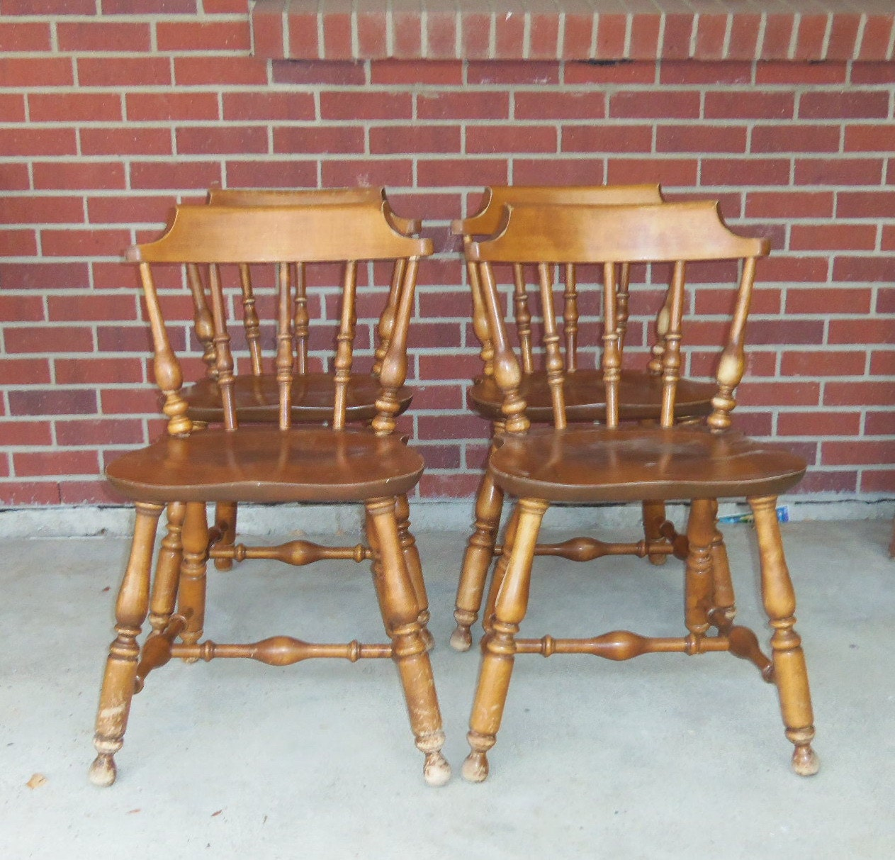 Nichols And Stone Chairs Vintage 1970 39 S Clean But By Bunnysluck