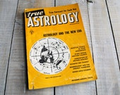 True Astrology Magazine, December 1954 January 1955 Issue, Sagittarius Capricorn Aquarius 61st Birthday, 61 years old