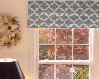 Custom Curtains Blue