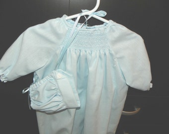 Baby Boy Day Gown Set