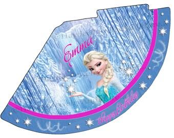 Instant Download Frozen Birthday party hat