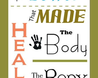 """Chiropractic Quote Poster 18"""" X 24"""""""